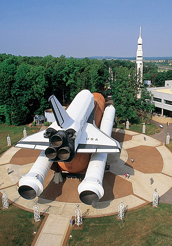 Space Shuttle at U.S. Space & Rocket Center