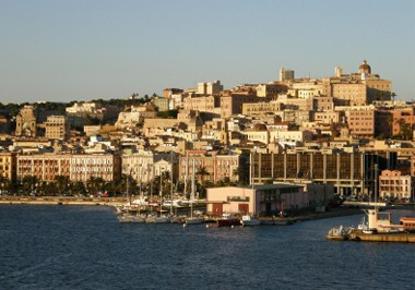 Sardinia Cityscape