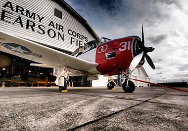 Pearson Air Museum biplane