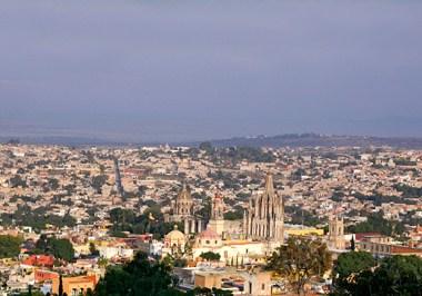 San Miguel de Allende Cityscape