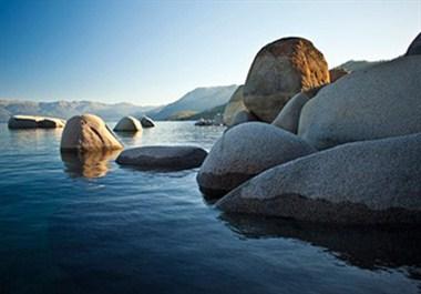 Stillness of Lake Tahoe