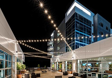 Outdoor Patio at Rivers Casino