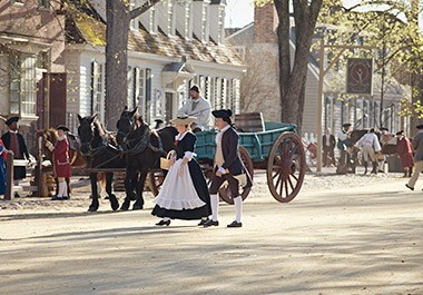 Colonial Williamsburg Duke of Gloucester Street