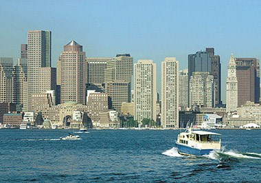 Boston Harbor Skyline
