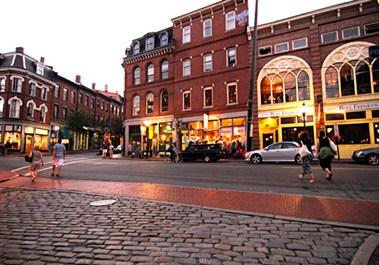 Exchange Street, Old Port