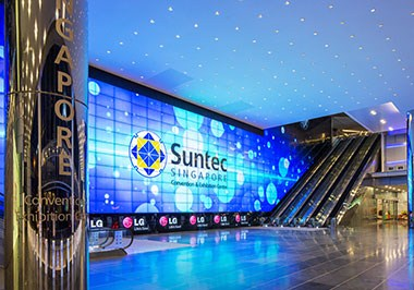 Suntec Singapore Convention & Exhibition Center