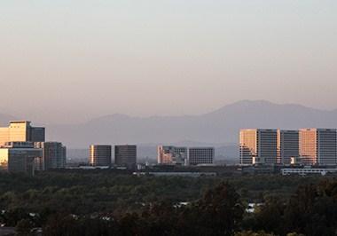Irvine skyline