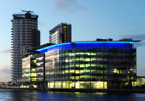 BBC Building at Salford Quays