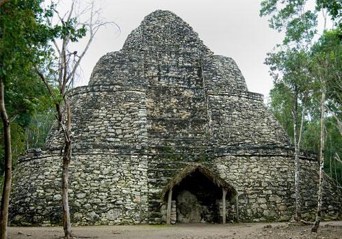 Xaibe Pyramid, Coba