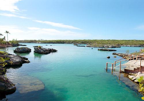 Lagoon in Xel-Ha