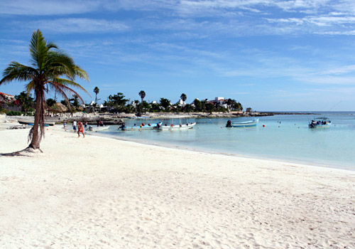 Akumal Bay Beach on the Yucatan