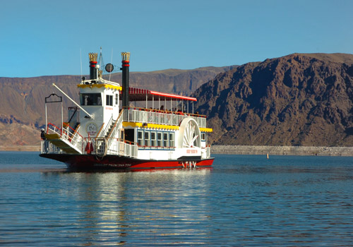 Desert Princess in Lake Mead National Recreation A