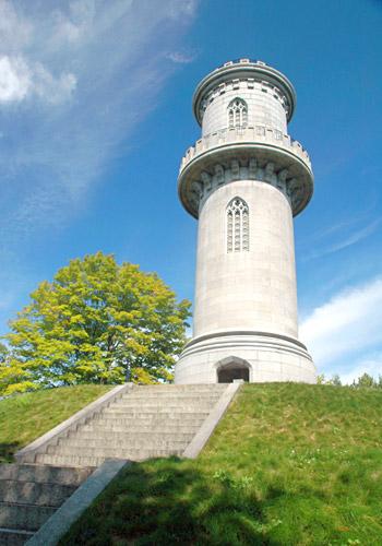 Washington Tower at Mount Auburn Cemetery