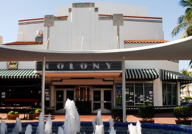 South Beach Lincoln Road Colony Theatre Segr