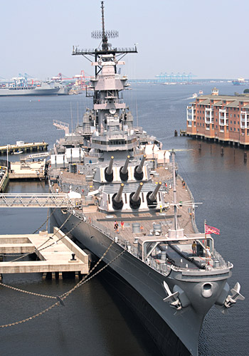 World War II Battleship Wisconsin