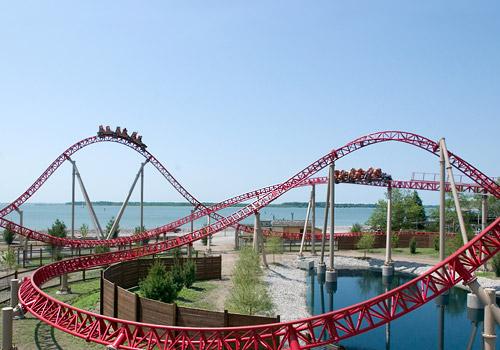 Maverick Coaster at Cedar Point