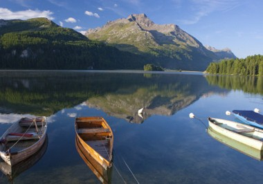 ENGADIN-St. Moritz Lake Sils
