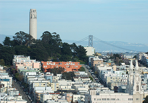 Coit Tower and North Beach District II