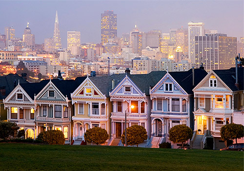 Painted Ladies of Alamo Square