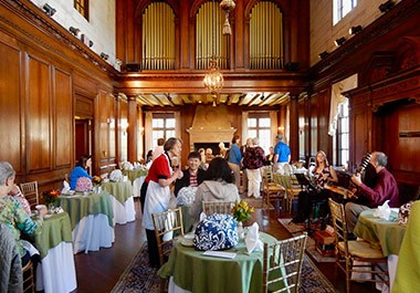 High Tea Strathmore Mansion