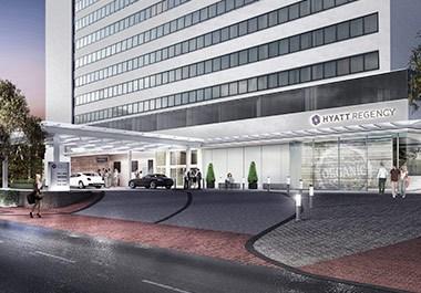 Hyatt Regency Bethesda Exterior