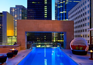 The Joule Hotel pool