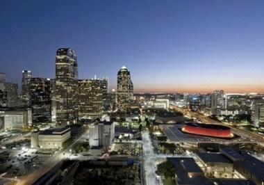Dallas Arts District Overhead