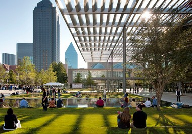 Dallas Arts District Sammons Park