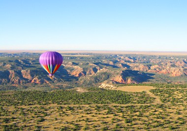Balloon Ride over Texas Panhandle