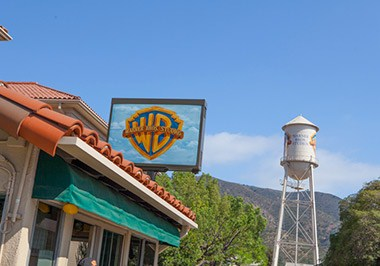 Warner Bros. Studios in Burbank