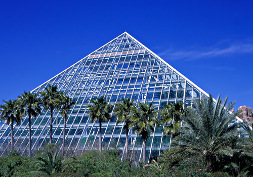 Rainforest Pyramid at Moody Gardens