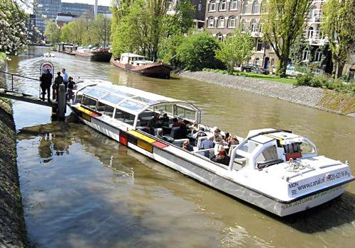 Mondriaan van Canal Bus