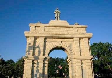 Civil War Arch