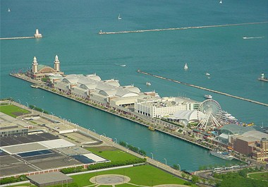 Navy Pier and Lighthouse