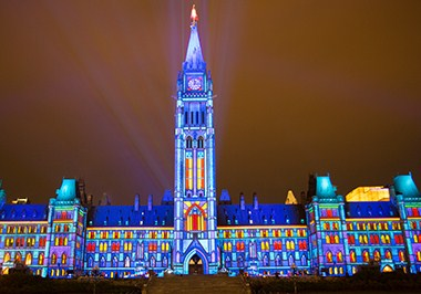 Northern Lights Sound and Light Show Ottawa