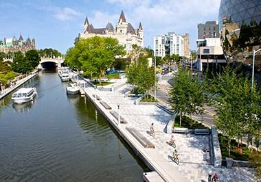 Rideau Canal Parliament Hill