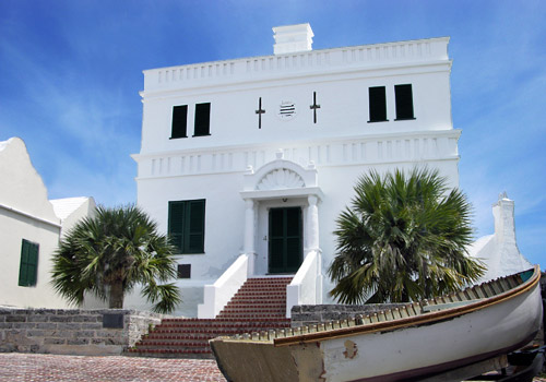 Former Government House in St. George's Parish