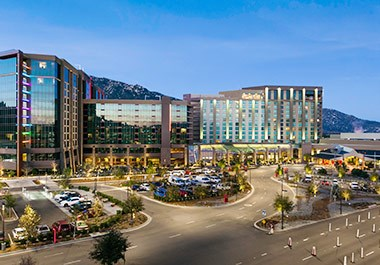 Pechanga Resort Morning Tower