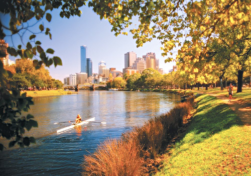 Yarra River in Autumn