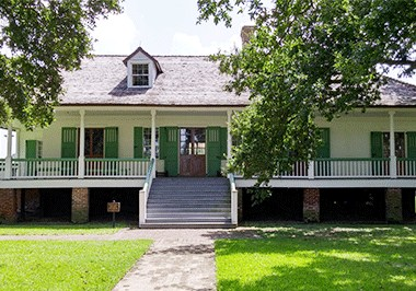 Magnolia Mound Plantation House
