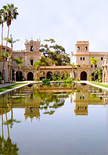 Reflection Pool At Balboa Park