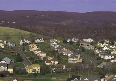 Morgantown Cityscape