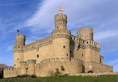 Castle in Manzanares el Real