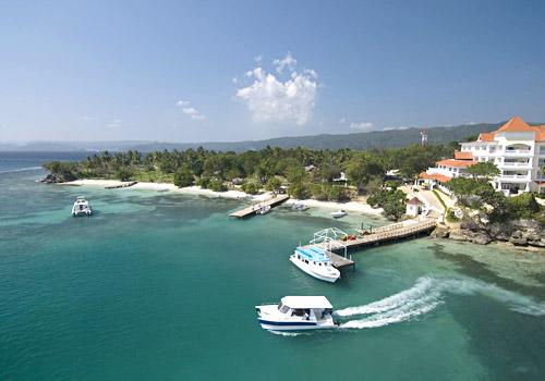 Hotel Pier, Cayo Levantado Island