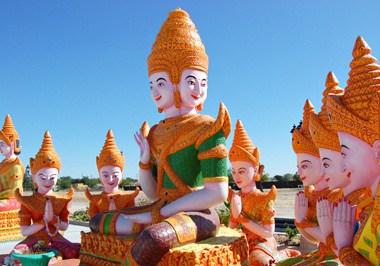 Cambodian Buddhist Temple (Wat Dharmararman)