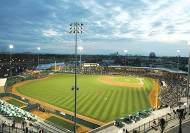 Banner Island Ballpark, Home to the Stockton Ports