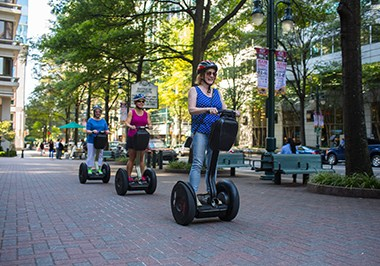 Segway Tour with Charlotte NC Tours