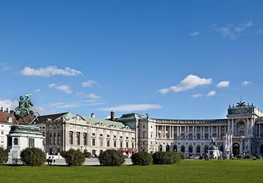 Aussenansicht Hofburg Vienna