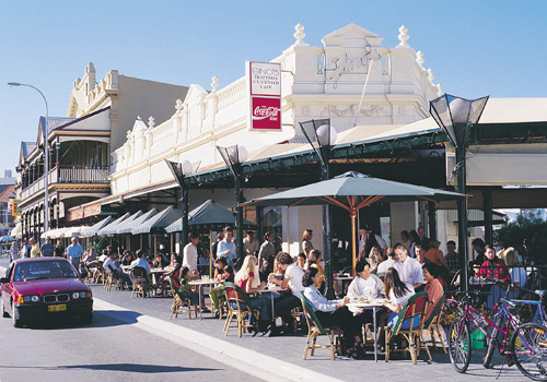 South Terrace Cafes, Fremantle
