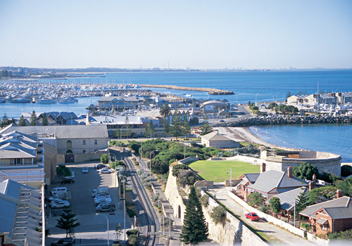 View of Fremantle's West End